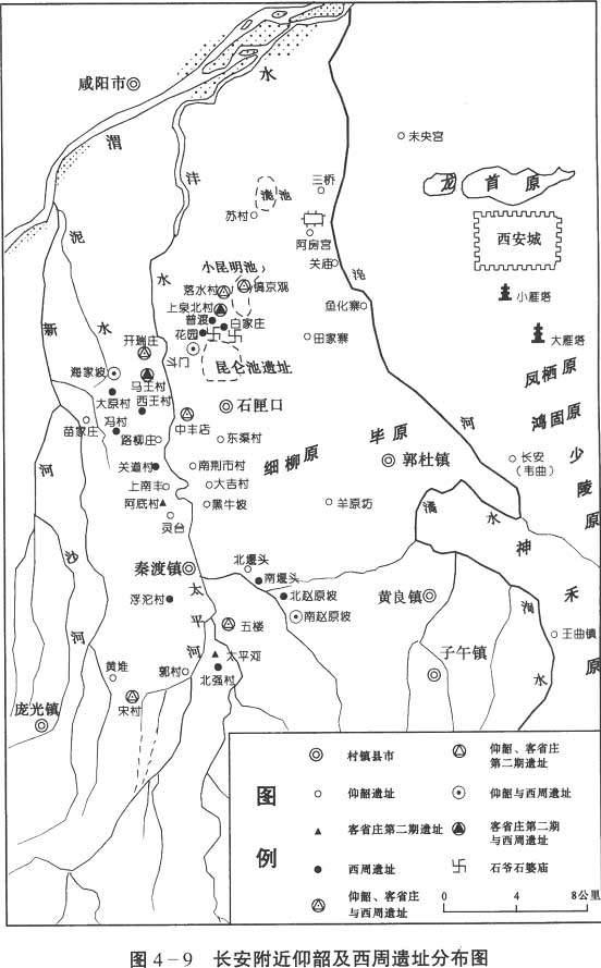 陕西西安户县地图